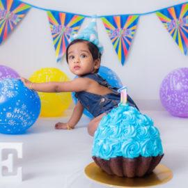 1  Year Old Baby Boy Cake Smash