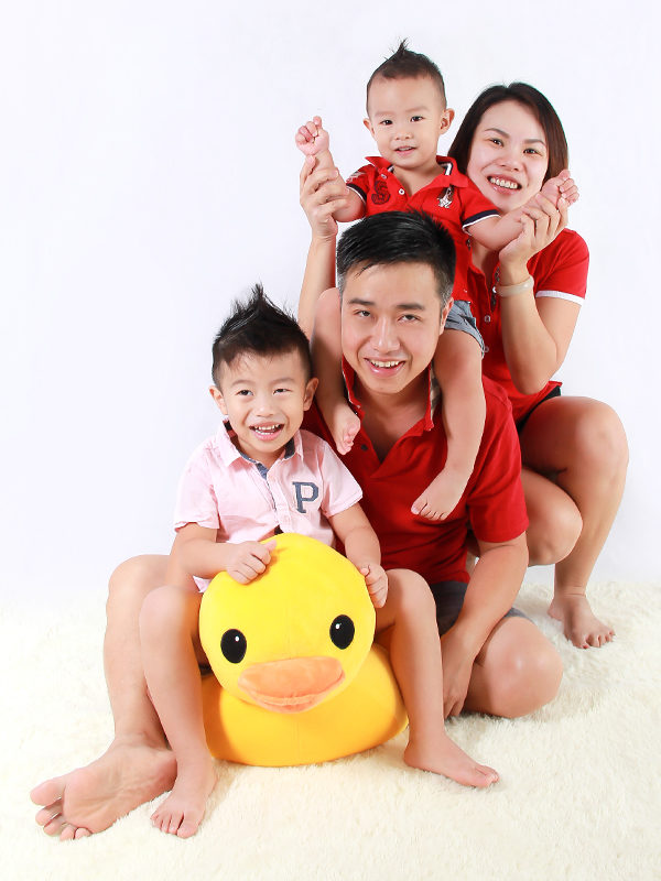 Family Photography At Home