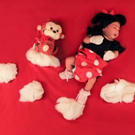 Newborn Baby Girl At Home