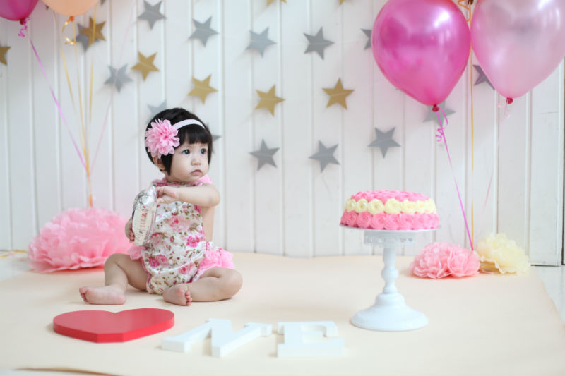 Baby Girl 1st Birthday