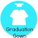 graduation gown provided