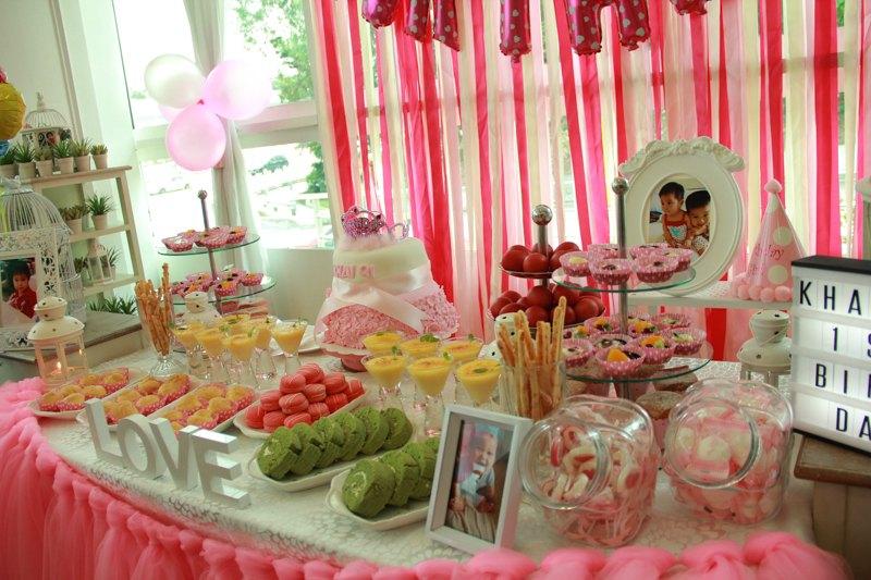 Baby Girl 1st Birthday Party Photoshoot